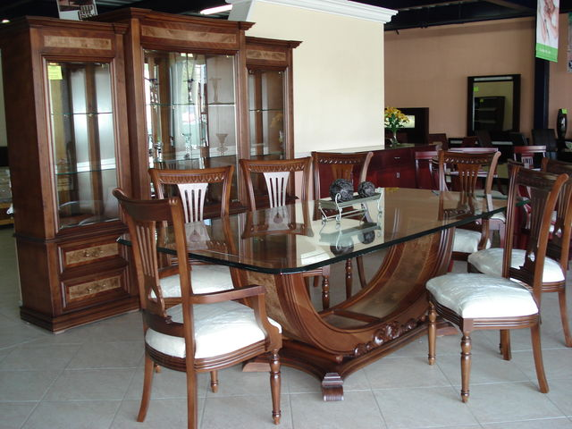 Comedor venecia muebles finos de madera for Comedores modernos mexico df