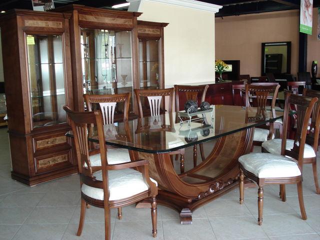 Venecia muebles finos de madera for Comedores en mexico