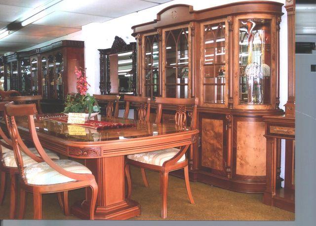 comedor espa ol curvo muebles finos de madera